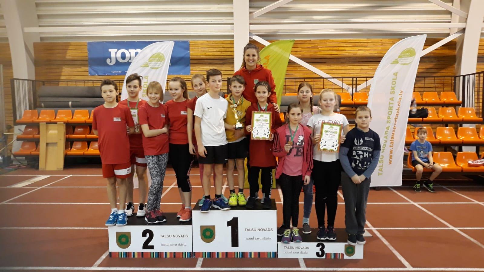 Talsu novada skolu sporta sacensības